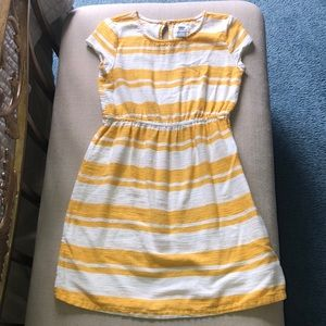 4/$20 Old Navy Dress L 10/12 Yellow Cotton